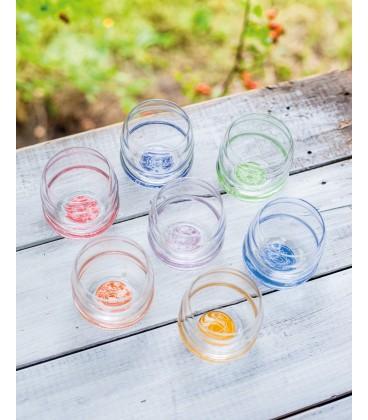 Set de 7 verres représentant les 7 chakras