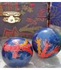 Boules de santé Phoenix et Dragon