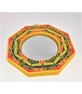 Miroir Ba Gua Feng Shui convexe