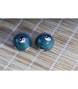 Boules de santé Yin Yang