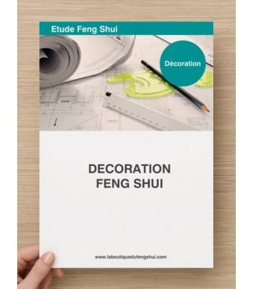 Etude Décoration feng Shui
