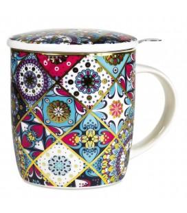 Mug à thé infuseur oriental