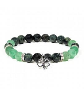 Bracelet Feng Shui Jaspe et Aventurine