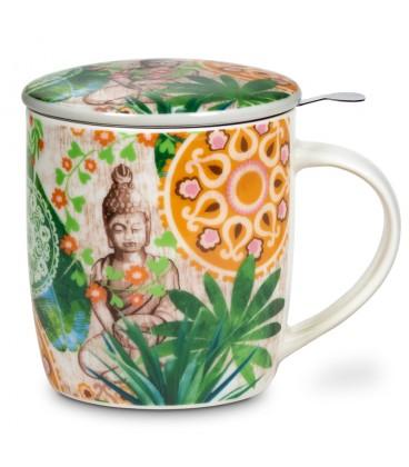 Mug infuseur à thé Bouddha