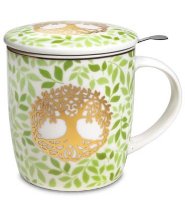 Mug infuseur à thé Arbre de Vie