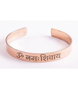 Bracelet en Cuivre avec le symbole Ohm