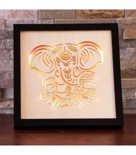 Cadre éclairage LED Ganesh