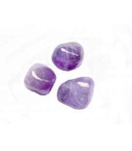 3 pierres roulées améthyste