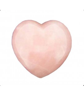 Coeur en quartz rose 2,5cm