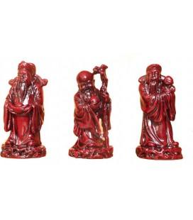 Les 3 protecteurs : Fuk, Luk et Sau - 9,5cm