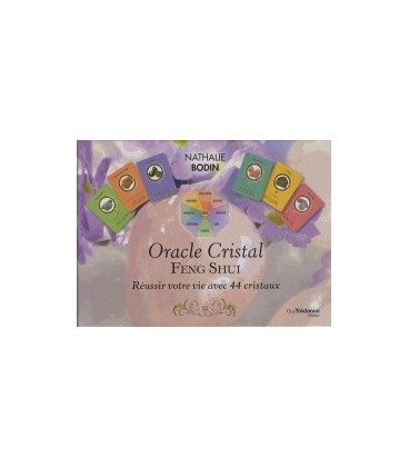 Oracle cristal feng shui